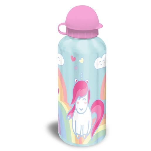 Botella de Aluminio Unicornio 500 ml