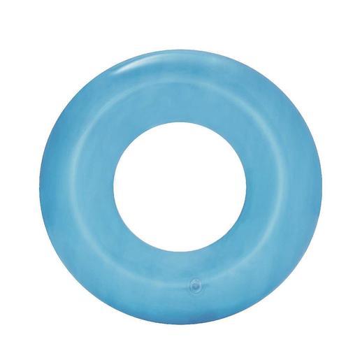 Bestway - Flotador Rueda Transparente 50 cm (varios colores)