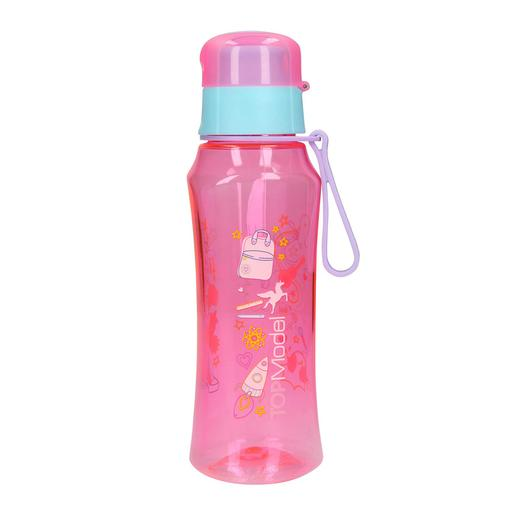 TOP Model - Botella de Plástico 500 ml Rosa