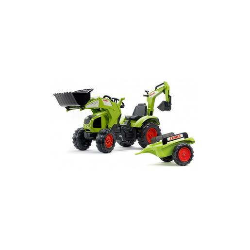 Super Conjunto Tractor a Pedales Claas Axos