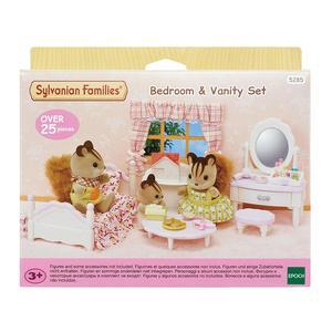 ToysRus Sylvanian Families - Set Dormitorio y Tocador