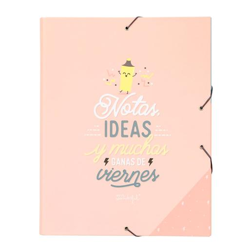 Mr. Wonderful - Notas, Ideas y Muchas Ganas de Viernes - Carpeta Separadora