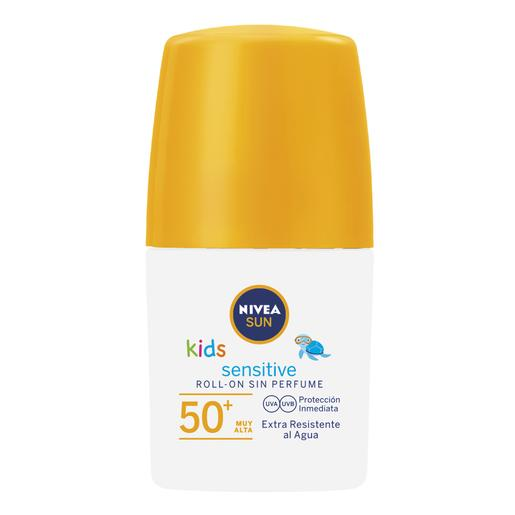 Nivea - Roll-On Sensitive FP50+ Protege y Juega