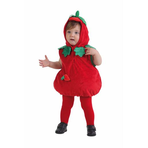 Disfraz Bebé - Fresa Cuerpo 0-12 Meses