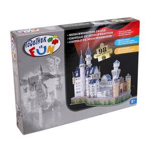 Puzzle 3D Castillo de Neuschwanstein