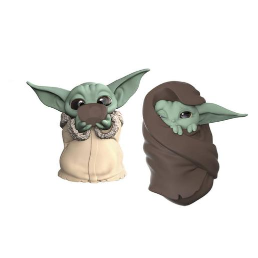 Star Wars - Baby Yoda The Child - Pack Figuras 6,3 cm Sopa y Mantita