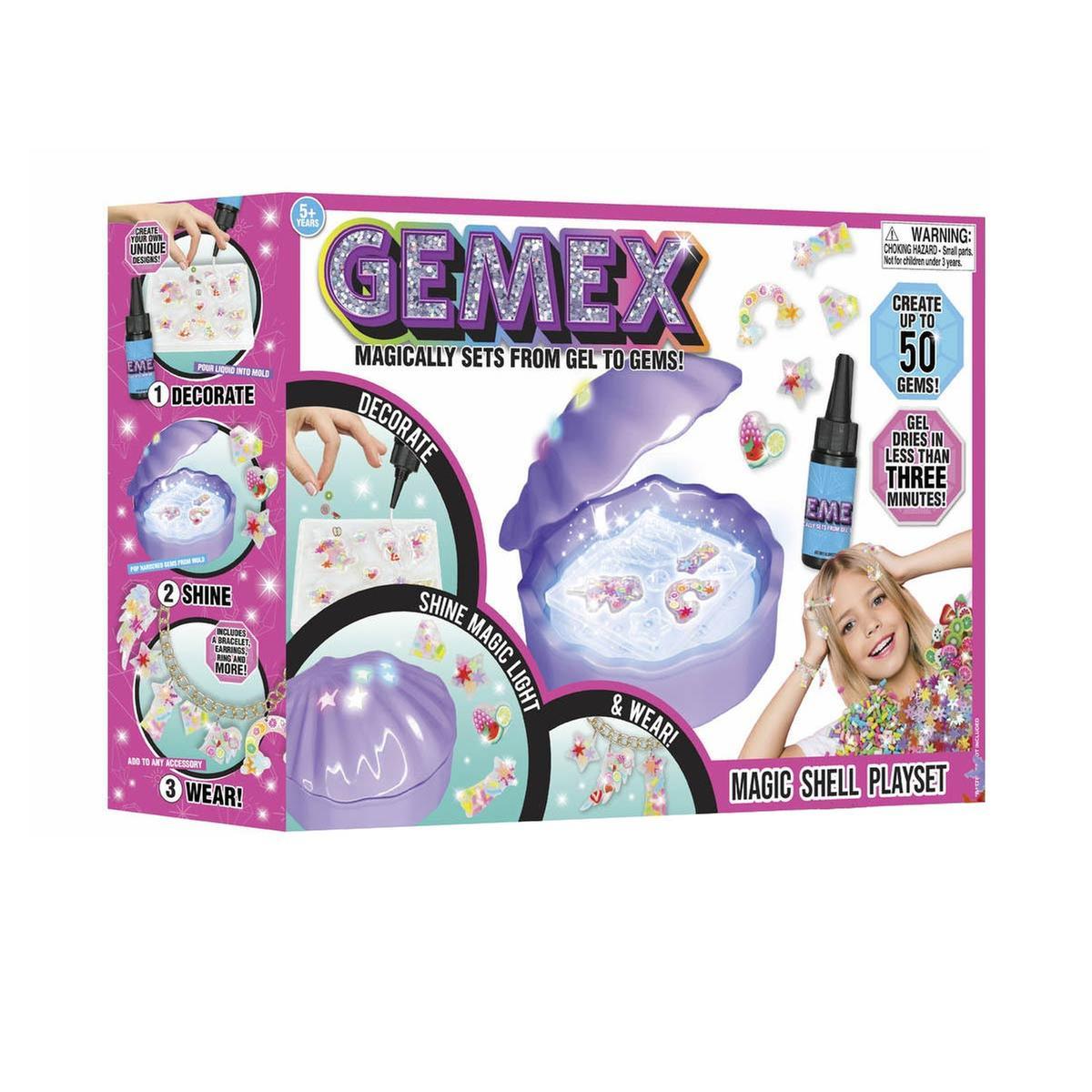 Famosa 700016092 llaveros Gemex- Estudio de Gemas para Hacer Pulseras Collares