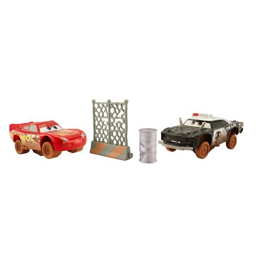 Cars - Rayo McQueen y APB - Pack 2 Coches Locos