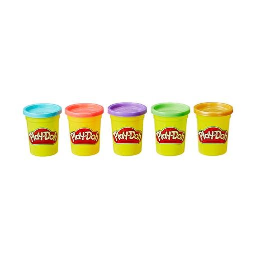 Play-Doh - Pack 5 Botes Oro