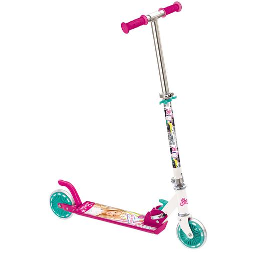 Barbie - Patinete de aluminio