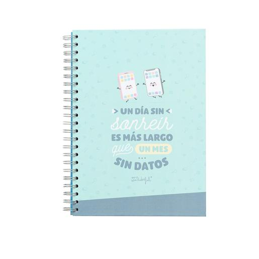 Mr. Wonderful - Un Día sin Sonreír es Más Largo Que un Mes sin Datos - Libreta