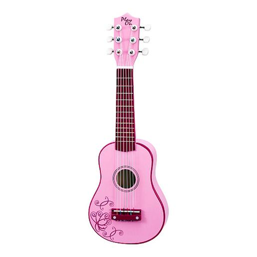 Play On - Guitarra de Madera Rosa 53 cm