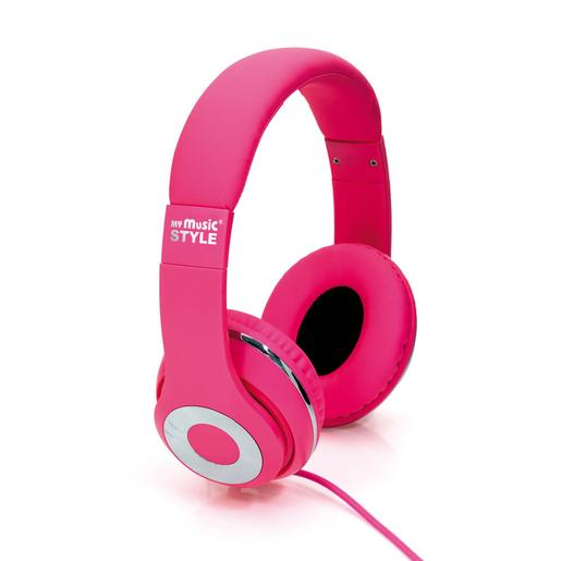 Auriculares My Music Style Rosas