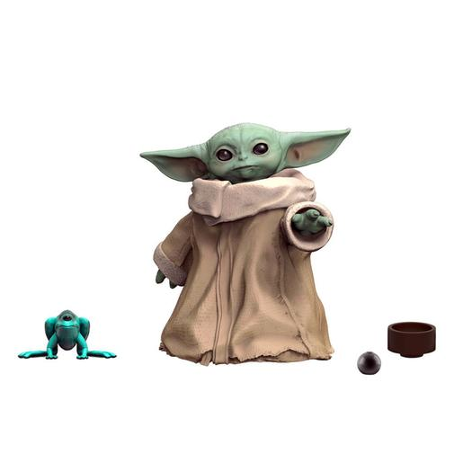 Star Wars - Baby Yoda The Child - Pack Figura 3 cm con Tazón y Bola