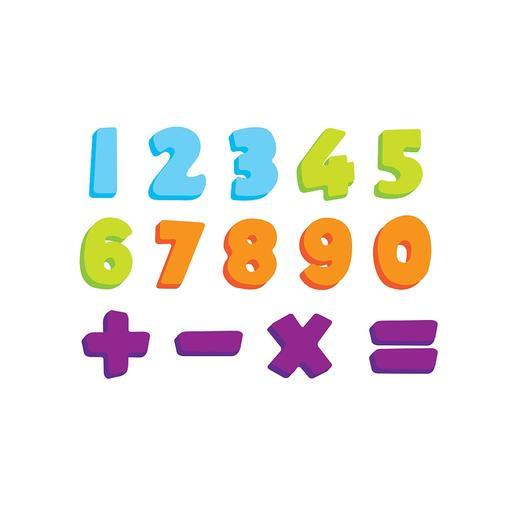 """Figuras eva para el baño """"numbers"""""""