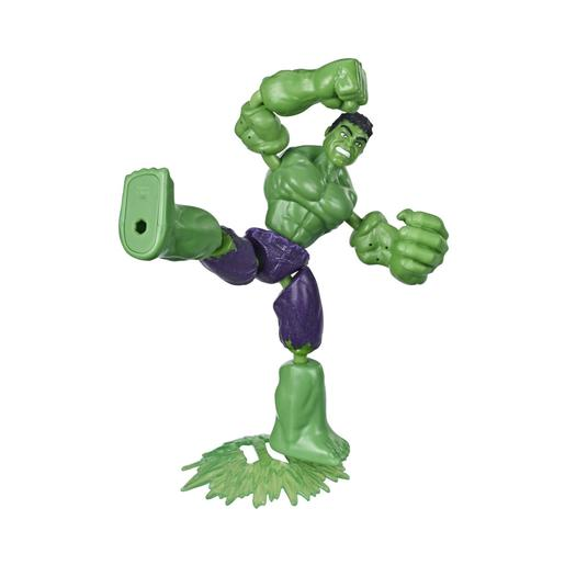 Los Vengadores - Figura Bend and Flex Hulk 15 cm