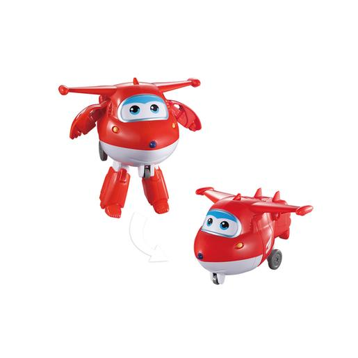 Super Wings - Figura Jett Transformable