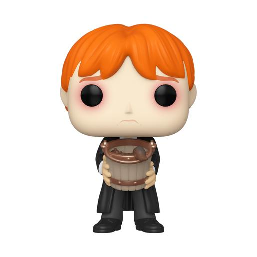 Harry Potter - Ron con Cubo - Figura Funko POP