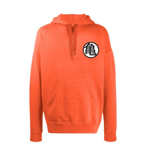 Dragon Ball - Sudadera con Capucha Dragon Ball Z Naranja Talla XL