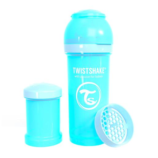 Twistshake - Biberón 260 ml - Azul