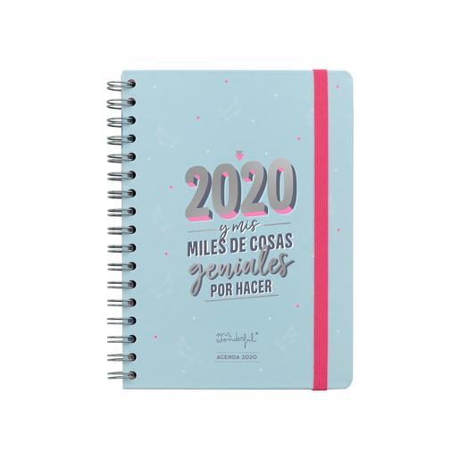 Mr. Wonderful - 2020 y Mis Miles de Cosas Geniales por Hacer - Agenda Clásica 2020