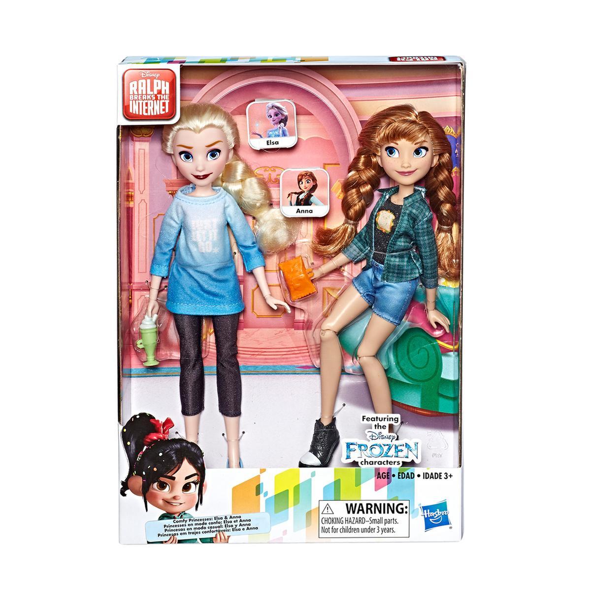 Frozen Elsa Y Anna Princesas En Modo Casual Hasbro Tienda De Juguetes Y Videojuegos Juguetería Online Toysrus