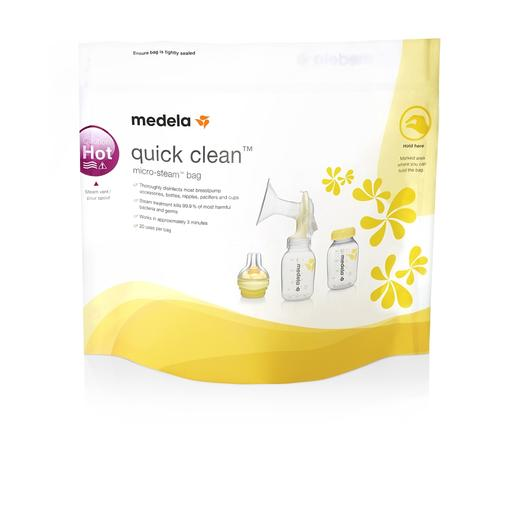 Quick clean: bolsas para esterilizar en microondas: 5 unidades