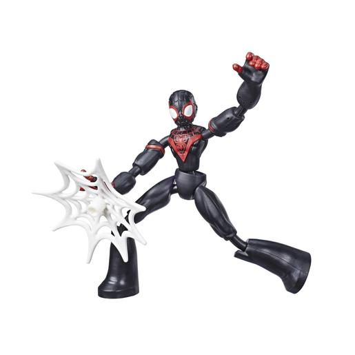 Spiderman - Figura Bend and Flex Miles 15 cm