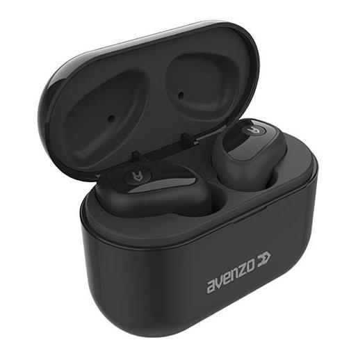 Auriculares true wireless Bluetooth 5.0 con power bank negro