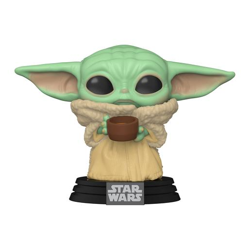 Star Wars - The Child With Cup - The Mandalorian Figura Funko POP