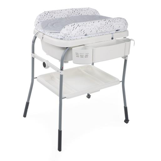 Chicco - Bañera Cuddle & Bubble Cool Grey