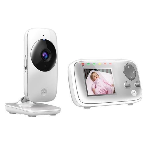Motorola - Vigilabebé Digital con Cámara 2,4 Pulgadas Vídeo - MBP482