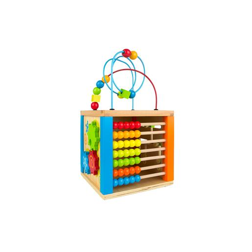 Play & Learn - Cubo de Actividades de Madera