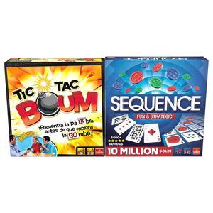 Pack Tic Tac Boum + Secuence Original – Juegos de Mesa