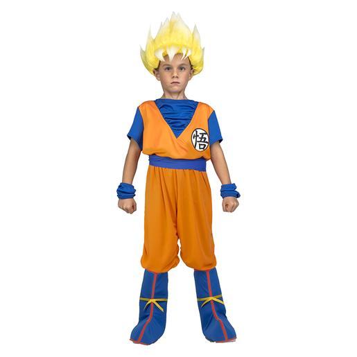 Dragon Ball - Disfraz Saiyan Goku 7-9 años