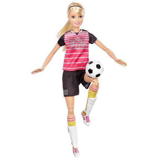 Barbie - Muñeca Movimientos Sin Límites - Futbolista