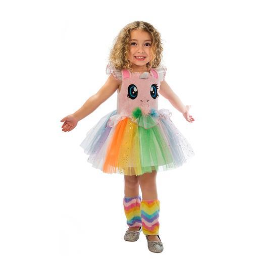 Disfraz Infantil - Niña Unicornio Rosa 3-4 años