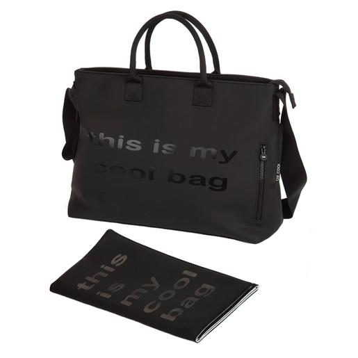 Be Cool - Bolso Cambiador Mamma Bag Negro