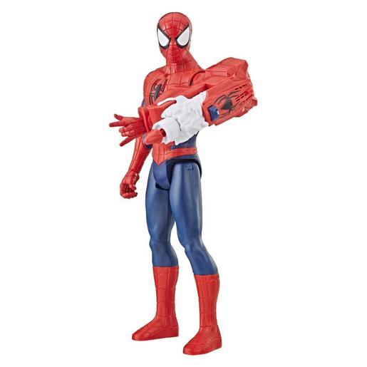 Los Vengadores - Spider Man - Figura 30 cm Titan Hero Deluxe