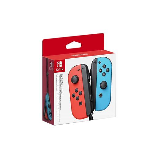 Nintendo Switch - Mandos Joy-Con Nintendo Switch Azul/Rojo Neón