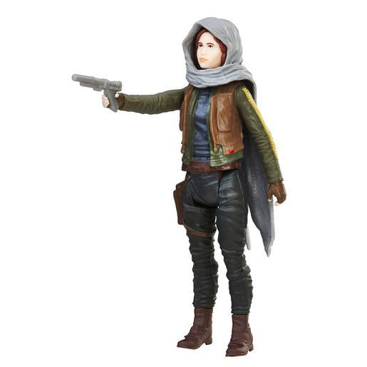 Star Wars - Jyn Erson Jedha - Figura Colección Naranja
