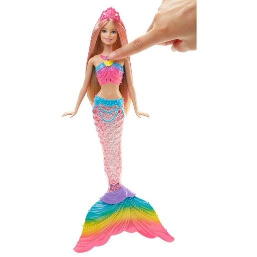 Barbie - Sirena Luces de arco iris