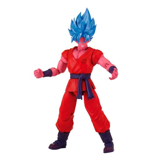 Dragon Ball - Super Saiyan Blue Goku Kaioken Figura Deluxe Super