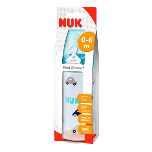 Nuk - Biberón First Choice Boca Ancha Talla 2 300 ml (varios modelos)