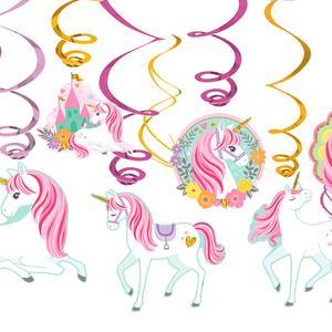 ToysRus|Pack 12 Decoraciones de Unicornios