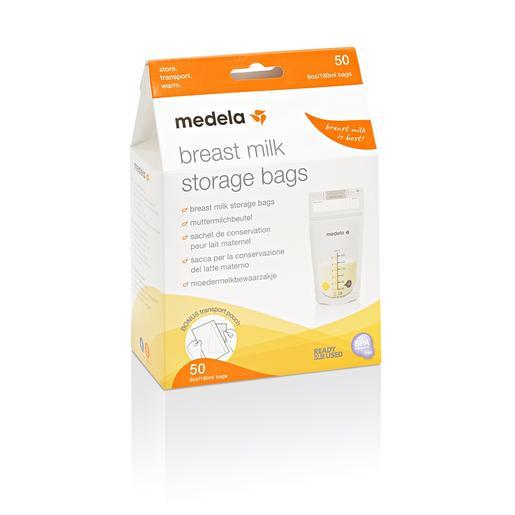 Bolsas para leche materna 50 unidades