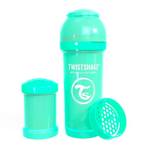Twistshake - Biberón 260 ml - Verde