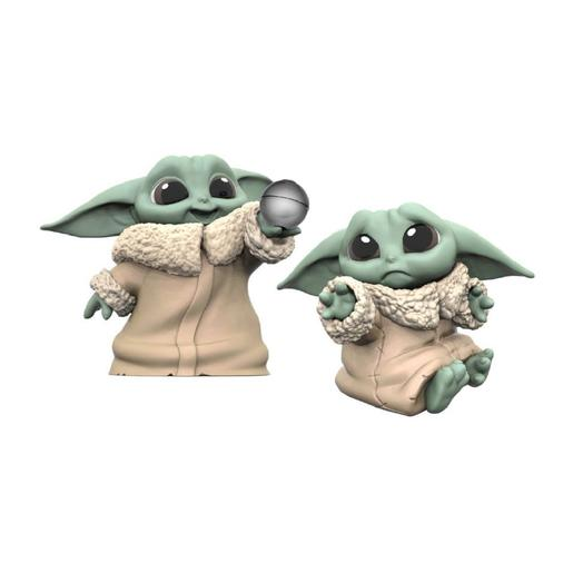 Star Wars - Baby Yoda The Child - Pack Figuras 6,3 cm Pelota y Abrazar