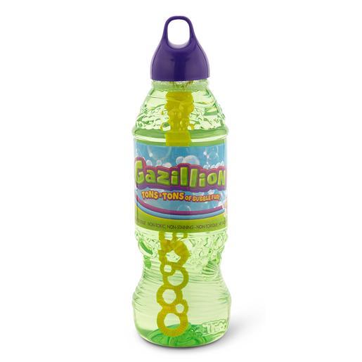 Gazillion - Botella 1 Litro de Solución de Burbujas