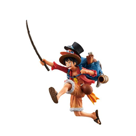 One Piece - Figura Three Brothers Monkey D. Luffy
